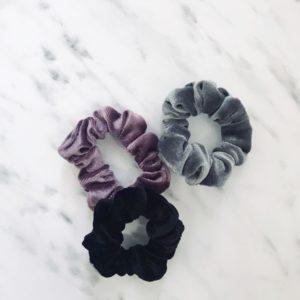 Velvet scrunchie 3
