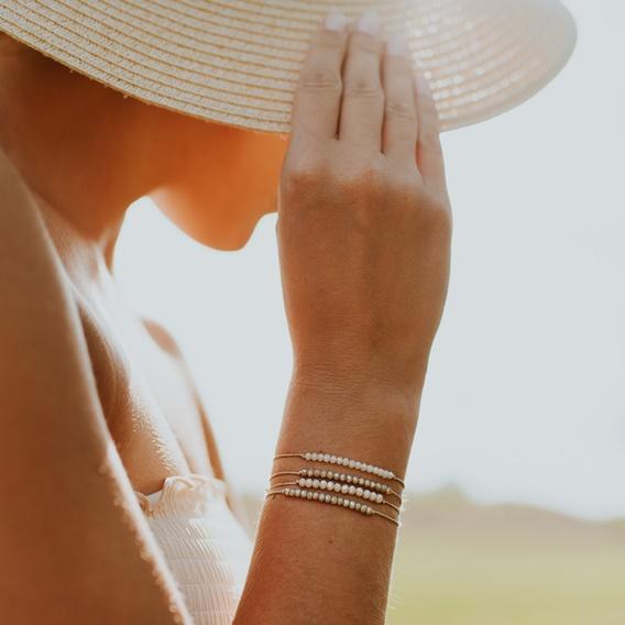 bransoletka na sznurku, minimalistyczna bransoletka